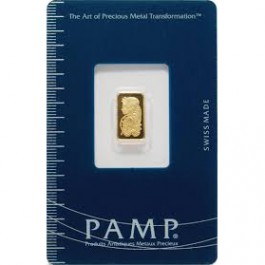Pamp Suisse Gold Bar 1 g