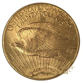 American 1922 St.Gaudens Gold Double Eagle $20_31742