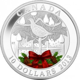 Canada 2013 A Partridge in a Pear Tree 1/2 oz