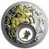 白俄羅斯2013十二星座-射手座鍍金銀絲精鑄銀幣1盎司_31902