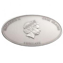 庫克群島 2012 教堂天花系列 - 納米西斯廷教堂 銀幣25克