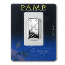 Pamp Hummingbirds Silver Bar 1/5 oz