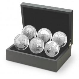 英國2014第一次世界大戰爆發精鑄銀幣六枚套裝