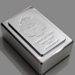 Scottsdale層疊形銀塊1公斤