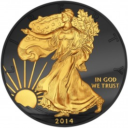 American 2014 Golden Enigma Edition - Walking Liberty 1oz