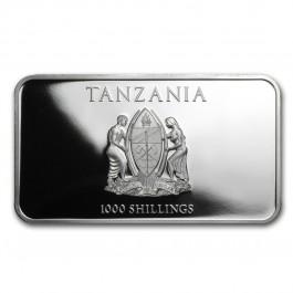 坦桑尼亞2014三隻聰明猴子精鑄銀幣1盎司