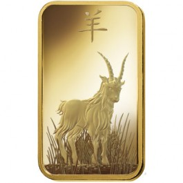 Pamp 2015 Goat Gold Bar 5 g