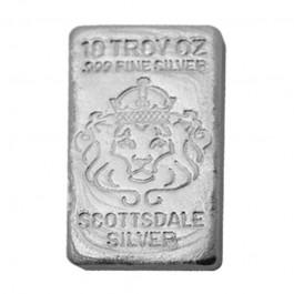 Scottsdale 澆鑄銀塊5盎司