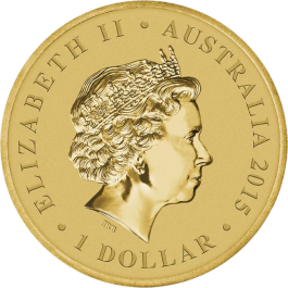 Australian 2015 Year of the Goat Stamp & Coin Cover 13.5 g