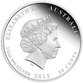 Australian 2015 Newborn Baby Proof Silver 1/2 oz