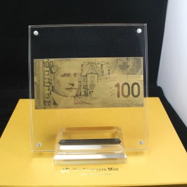 Canada CAD100 Gold Note