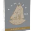 加拿大2015 大錢幣系列鍍金精鑄銀幣5盎司_33669