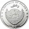 帛琉2014高山與花 - 希夏邦馬峰精鑄銀幣20克_33760