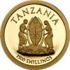 坦桑尼亞2014神聖教皇回憶精鑄銀幣0.5克_33831