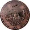 帛琉2015寶藏遊戲鋅合金銅幣22盎司_33817