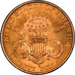 America 1897 Liberty Gold Double Eagle $20 1 oz