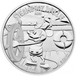 Niue 2015 Mickey Mouse - Steamboat Willie proof silver 1 kg