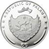帛琉2014高山與花 - 道拉吉里峰精鑄銀幣20克_39352