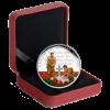 加拿大2015 100週年法蘭德斯戰場精鑄銀幣5盎司_34382