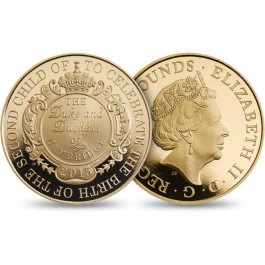 UK 2015 The Royal Birth Proof Gold 39.94 g