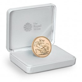 UK 2015 Royal Birth Celebration Sovereign Gold 1/4 oz