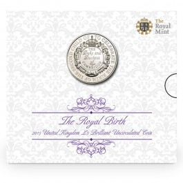 UK 2015 The Royal Birth Cupro nickel 28.28 g