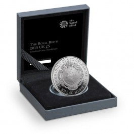 UK 2015 The Royal Birth Proof Silver 28.28 g