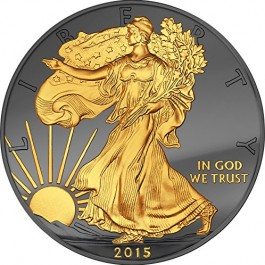 American 2015 Golden Enigma Edition - Walking Liberty 1oz