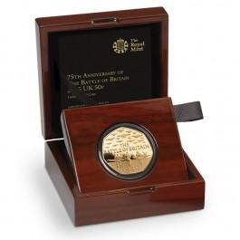 英國2015不列顛戰役精鑄金幣1/2盎司