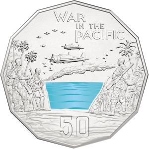 Australia 2015 Australia At War - War In The Pacific Silver 1/2oz_36527