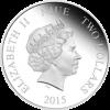 紐埃2015迪士尼公主一白雪公主彩色精鑄銀幣 1盎司_36581