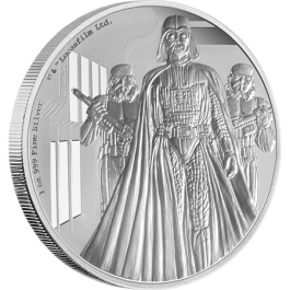 Niue 2016 Star Wars Classic: Darth Vader Proof Silver 1oz