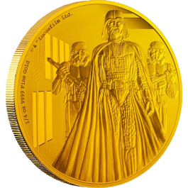 Niue 2016 Star Wars Classic: Darth Vader Proof Gold 1/4oz