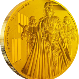 Niue 2016 Star Wars Classic: Darth Vader Proof Gold 1oz