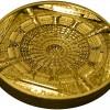 庫克群島2015年天壇精鑄金幣100克_37017