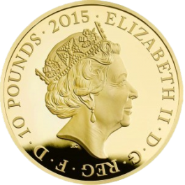 UK 2015 First World War - Gold Proof 5oz