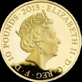 英國2015第一次世界大戰 - 精鑄金幣5盎司