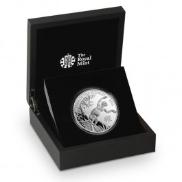 Britain 2016 Lunar Year of the Monkey Silver Proof  5 oz