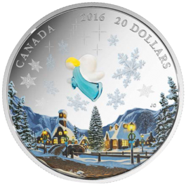 Canada 2016 MY ANGEL  Proof Silver 1 oz