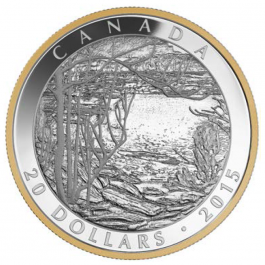 Canada 2015 Tom Thomsan - Spring Ice Proof Silver 1 oz