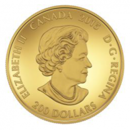 Canada 2015 DIWALI : FESTIVAL OF LIGHTS PURE GOLD COIN 1oz