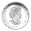 加拿大2016 壯麗的楓葉 水晶石   精鑄銀幣1盎司_39481
