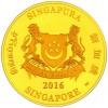 新加坡2016 猴年生肖 精鑄金幣5盎司_38911