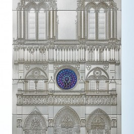 Niue 2014 The Notre-Dame Cathedral in Paris Silver 1000 g