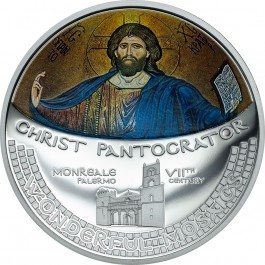 Cook Islands 2016 Christ Pantocrator Mosaic Proof Silver 1 oz
