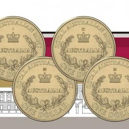 澳洲 2016 澳洲第一枚硬幣鑄造標記 - 非流通四枚套裝