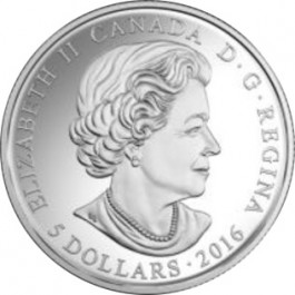 Canada 2016 Birthstones Series - March Proof Silver Coin 1/4 oz