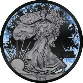 American 2016 The deep Frozen Edition - Eagle Silver Coin 1 oz