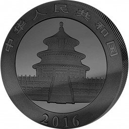 China 2016 The deep Frozen Edition - Cinese panda Silver Coin 1 oz
