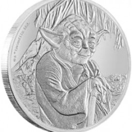 Niue 2016 Star Wars Classic - Yoda Proof Silver Coin 1 oz